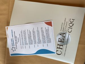 CHEA Roundtable Schedule